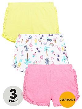 mini-v-by-very-girls-3-pack-jersey-ruffle-shorts
