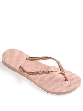 Havaianas Slim Flip Flop Sandal - Rose