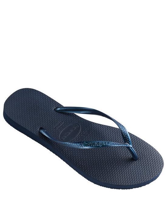 50fd73eb76055 Slim Flip Flop Sandal - Navy