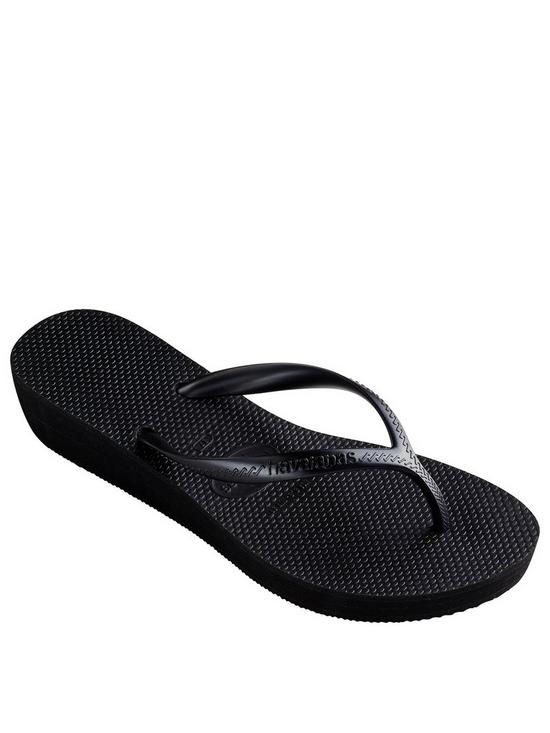 0539ae391e42a1 Havaianas High Light Wedge Flip Flop Sandal