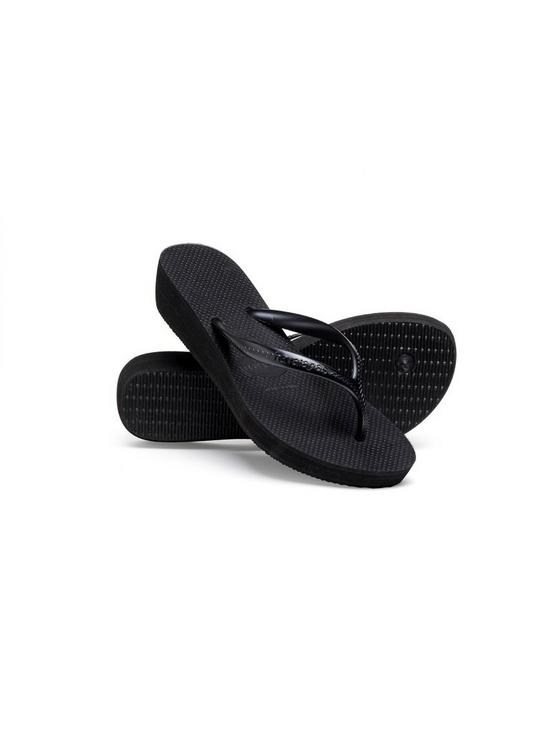 00bca46eb ... Havaianas High Light Wedge Flip Flop Sandal. View larger