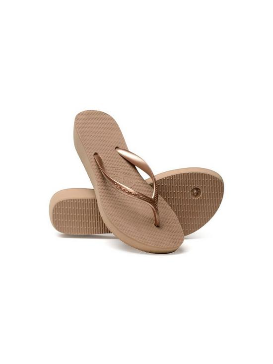 e244a16f37d379 ... Havaianas High Light Wedge Flip Flop Sandal - Rose Gold. 2 people are  looking at this right now.