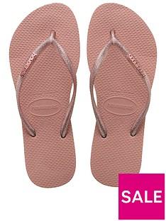 e26f9450306a65 Havaianas Havaianas Slim Logo Metallic Flip Flop Sandal
