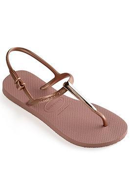 Havaianas Freedom Sl Maxi Flip Flop Sandal - Rose