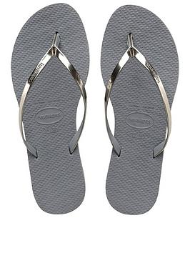 Havaianas You Metallic Flip Flop Sandal