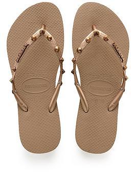 Havaianas Slim Hardware Flip Flop Sandal