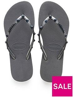 1733123a5754ab Havaianas Slim Hardware Flip Flop Sandal - Grey