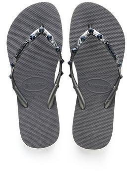 Havaianas Slim Hardware Flip Flop Sandal - Grey