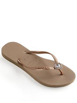 Havaianas Slim Poem Flip Flop Sandal
