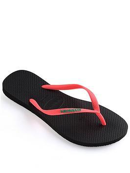 Havaianas Havaianas Slim Logo Flip Flop Sandal