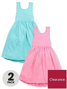 mini-v-by-very-girls-2-pack-bow-back-detail-dresses