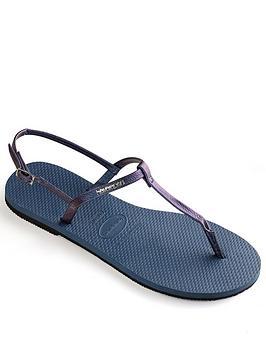 Havaianas You Riviera Flip Flop Sandal - Indigo Blue