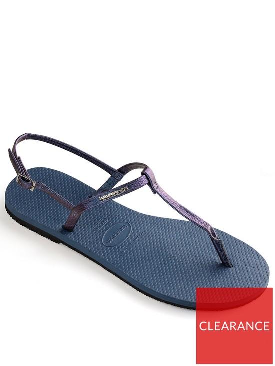 653e9f242 Havaianas You Riviera Flip Flop Sandal - Indigo Blue