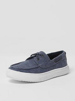river-island-boys-blue-washed-canvas-boat-shoes
