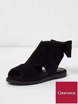 river-island-river-island-mini-girls-bow-back-shoe-boot