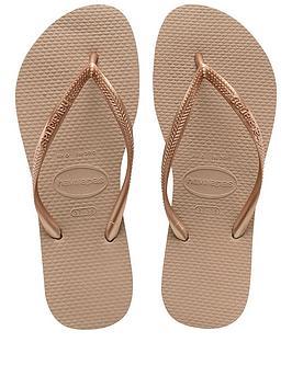 Havaianas Slim Flip Flop Sandal - Rose Gold