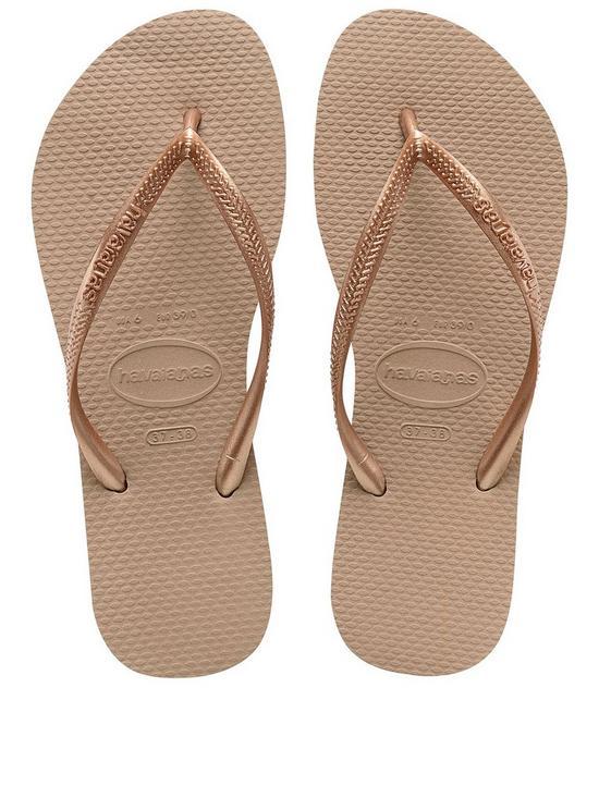 6095e2387c3a Havaianas Slim Flip Flop Sandal - Rose Gold