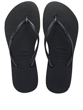 Havaianas Slim Flip Flop Sandal - Black