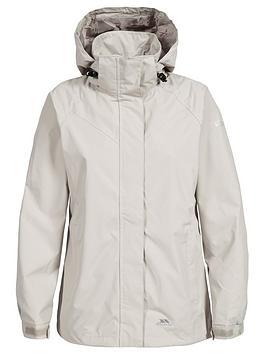 Trespass Charge Waterproof Jacket - Almond