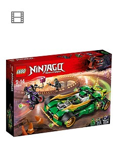 LEGO Ninjago 70641 Ninja Nightcrawler Vehicle