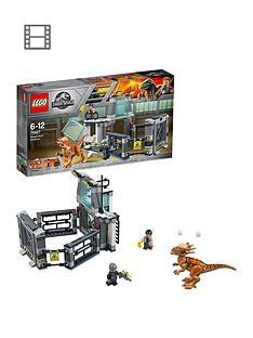 LEGO Jurassic World 75927 Stygimoloch Laboratory Breakout