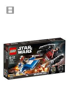 lego-star-wars-75196-a-wingnbspvs-tie-silencernbspmicrofighters