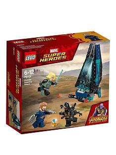 LEGO Super Heroes 76101 Avengers Outrider Dropship Attack