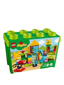 LEGO 10864 Duplo My First Large Playground Brick Box Best Price and Cheapest