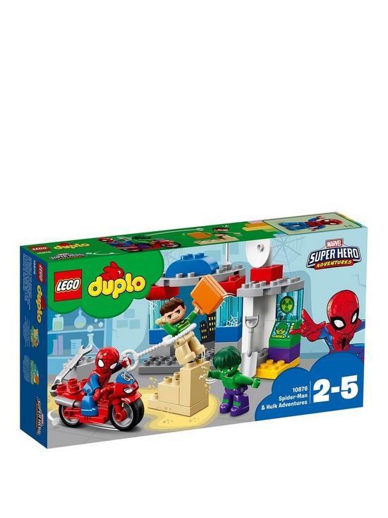 Lego Duplo 10876 Spider Man Hulk Adventures Verycouk