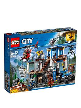 Lego City 60174 Police Mountain Police Headquarters