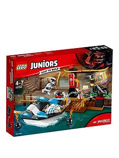 lego-juniors-10755nbspzanes-ninja-boat-pursuit