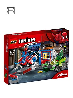 LEGO Juniors 10753Spider-Man vs. Scorpion Street Showdown