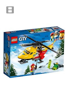 LEGO City 60179 City Ambulance Helicopter