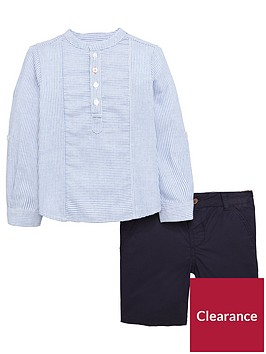 mini-v-by-very-toddler-boys-2-piece-striped-shirt-and-chino-shorts-set-multi