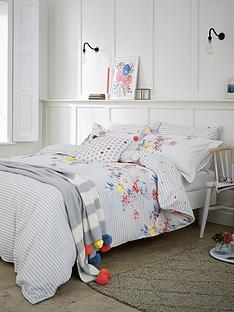 joules-harbour-floral-stripe-180-thread-count-cotton-percale-duvet-covernbsp