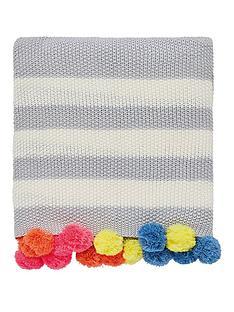 joules-harbour-floral-stripe-100-cotton-bedspread-throw