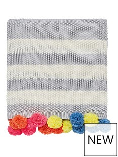 joules-harbour-floral-stripe-100-cotton-bedspread-throw