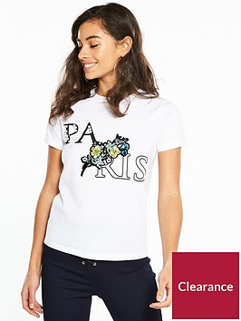 v-by-very-petite-pearl-and-sequin-slogan-t-shirt