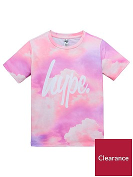 hype-girls-short-sleeve-cloud-print-t-shirt