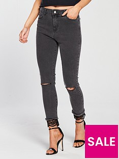 v-by-very-petite-lace-hem-skinny-jean-grey