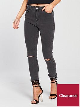 v-by-very-petite-lace-hem-skinny-jean-grey