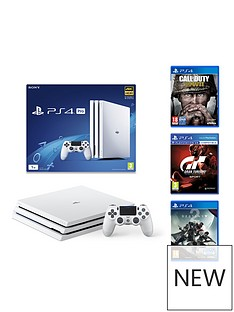 playstation-4-glacier-white-ps4-pro-console-with-gran-turismo-sport-call-of-duty-wwii-and-destiny-2-and-365-psn-subscription-card
