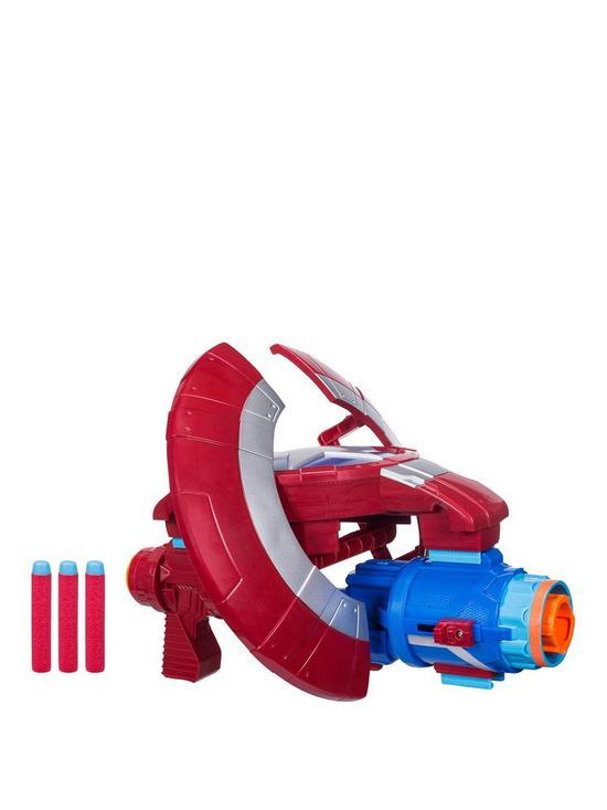 Marvel Avengers Infinity War Nerf Captain America Assembler Gear ... 0b4cd5f57