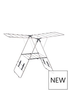 stainless-steelwinged-indoor-airer
