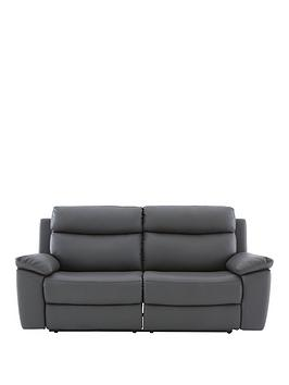 new-edison-luxury-faux-leather-3-seater-manual-recliner