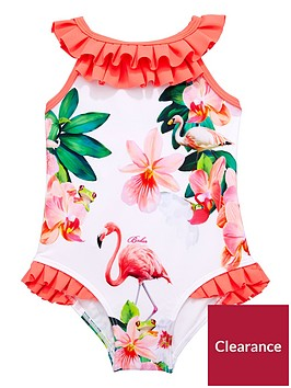 baker-by-ted-baker-girls-flamingo-floral-swimsuits
