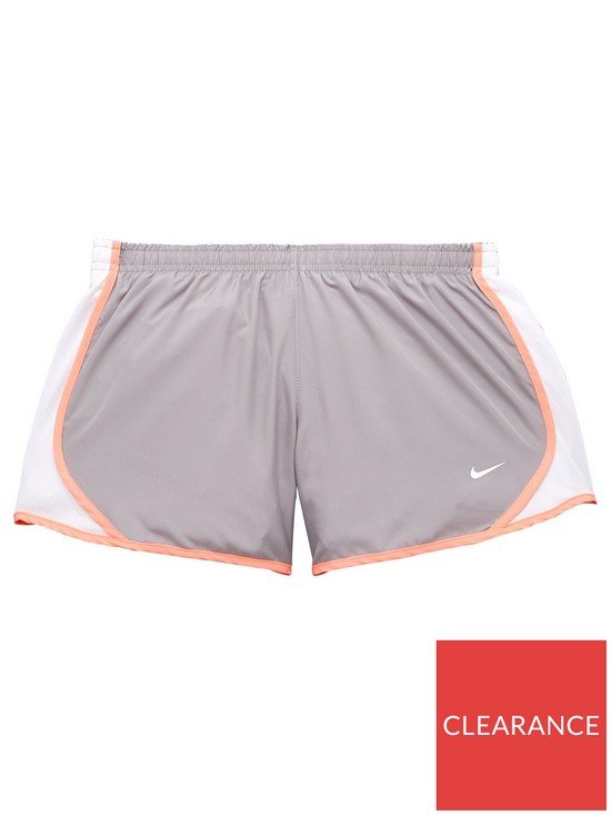 8336d9c6b7c1 Nike Older Girls Dry Tempo Short - Grey/White   very.co.uk