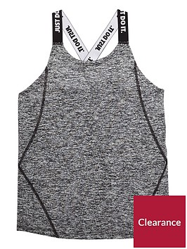 nike-older-girls-dry-elastic-tank-black