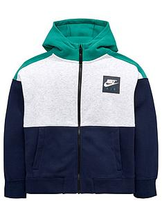 nike-older-boys-air-hoodie-grey-heathernbsp