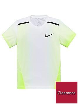 nike-older-boys-breathe-insta-air-top-whitegreen
